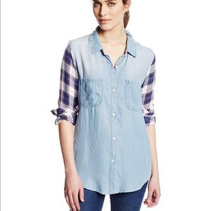 Rails | Chambray & Plaid Button Down Shirt
